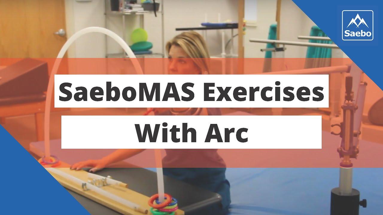 SaeboMAS Exercise - Sitting Shoulder Horizontal Abduction ...