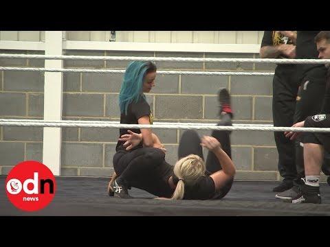 WWE Wrestling School Opens In London