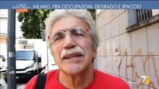 Milano, fra occupazioni, degrado e spaccio