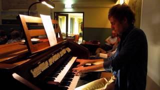 Improvisatie - Blijf bij mij Heer - Gert van Hoef Orgelzaal Booy