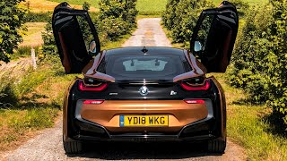 ROADTRIP TO LE MANS 24H IN THE NEW 2018 BMW I8 COUPE!! *Accelerations | Sounds | Review*