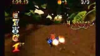 Crash Nitro Kart Demo Dumb