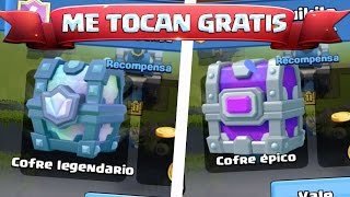 me touch chest legendary and epic recording decks video!!! CLASH ROYALE EVERYWHERE!