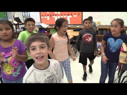 BULLDOG NATION TV: Somerset Elementary Students Step Up with KLRN Pedometers
