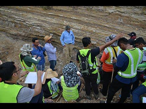UM MSc Petroleum Geology Sarawak Fieldtrip 2016