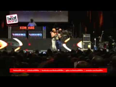 Tonto Dike's full peformance at Iyanya Concert 2013