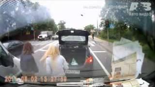 Неадекватная ТП за рулем
