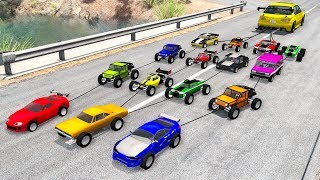 Beamng drive - Tug of War Crashes #6