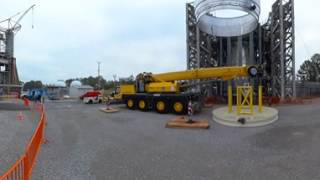 Join Us on the Job Site of Testing NASA's Deep-Space Rocket – in 360!