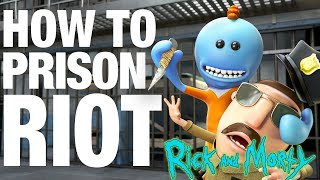 How to Prison Riot  Meeseeks vs Meeseeks from Rick and Morty