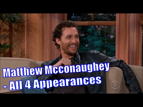 Matthew Mcconaughey Is One Of A Kind  44 Appearances In Chron. Order HD