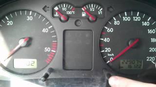 Kasowanie Inspekcji VW Golf IV Oil Service Indicator Light Reset VW Golf IV