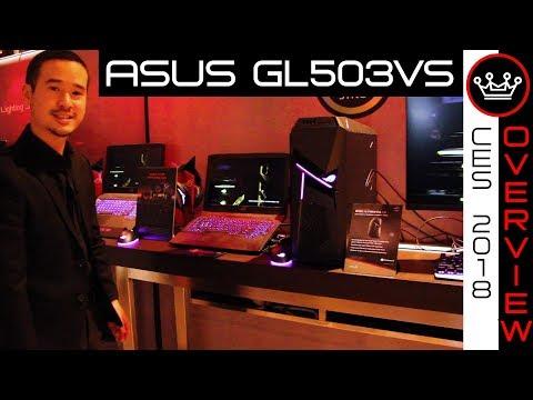 Asus ROG Strix GL503VS Scar | 144Hz G-Sync GTX 1070 Gaming Laptop | CES 2018