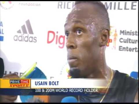 Usain Bolt Wins His Final Race On Jamaican Soil - TVJ Prime Time Sports - June 11 2017