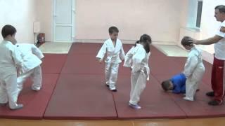 1.11.15 Открытый урок по дзюдо: укеми. Дети 5 - 6 лет. Centre Judo Kids. Feodosiya