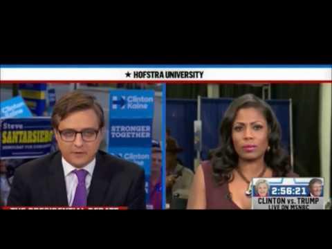 Omarosa scolds Chris Hayes MSNBC