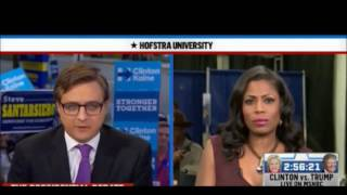 Omarosa scolds Chris Hayes MSNBC 'Shame on you be a journalist'