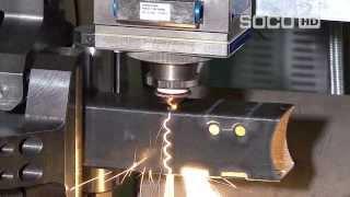 Автоматическая система лазерной резки труб и профиля SOCO SLT-152. Fiber Laser с ЧПУ(, 2013-11-11T09:26:14.000Z)