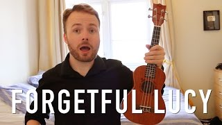 Forgetful Lucy - Adam Sandler 50 First Dates (Ukulele Tutorial)
