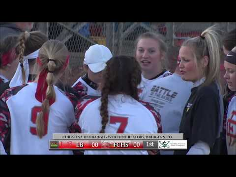 Franklin County High School Softball vs. Lord Botetourt High School Battle of the Bases 2019