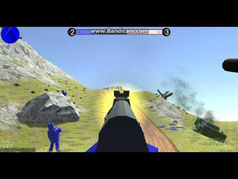 Minecraft Paint Ball - Красные против синих - Mini-game