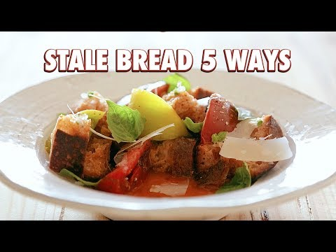 Five Ways To Use Stale Bread