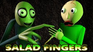 SALAD FINGERS vs BALDI IN MINECRAFT CHALLENGE! (official) Baldi Minecraft Animation Game