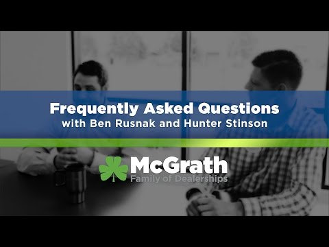 McGrath Auto Frequently Asked Questions | Leasing and Trade