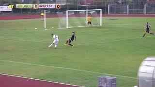 Eccellenza Girone B Aglianese-Sestese 1-0