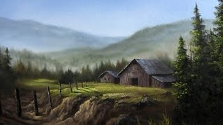 Paint with Kevin Hill - Farmland Scene