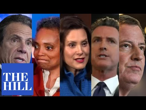 WATCH: Governors, mayors