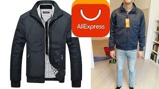 Посылка из Китая AliExpress - Мужская осенняя куртка /  распаковка и обзор / Unboxing and Review