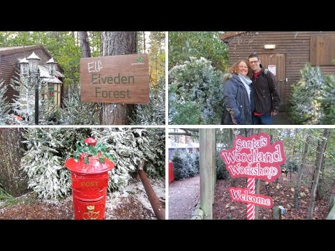 Winter Wonderland at Center Parcs 2014 - Day 1 - VLOG - 17th November 2014