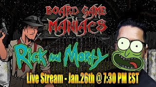 Play Rick and Morty - Total Rickall with Us - January 26th @ 7 30 pm EST
