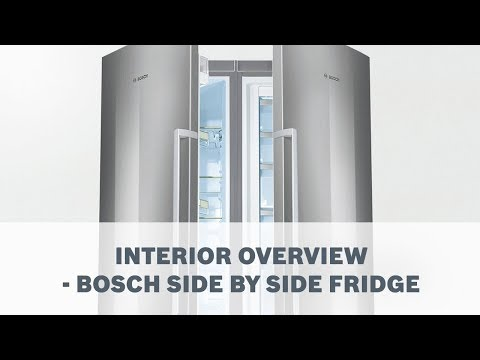 Bosch Side by Side Fridge