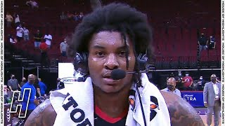 Kevin Porter Jr. Talks 50-Point Game, Postgame Interview - Bucks vs Rockets | April 29, 2021