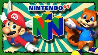N64 Top 10 der besten Games / Spiele für das Nintendo 64 aller Zeiten!!