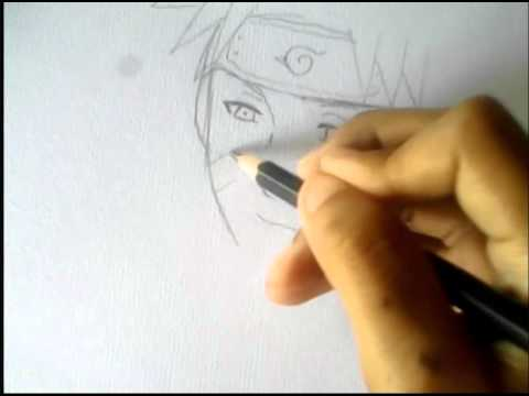 วาดรูปนารูโตะ  ตอนโต มุมสงบ