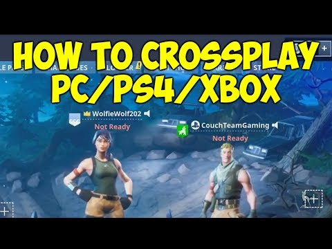 How To Crossplay On Fortnite PC/PS4/XBOX/SWITCH!