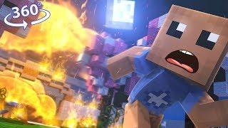 Kick The Buddyand39s Escape - Minecraft 360° Vr Video