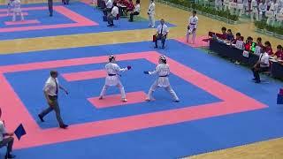 H30全国高校総体空手道③-4 女子団体組手4回戦