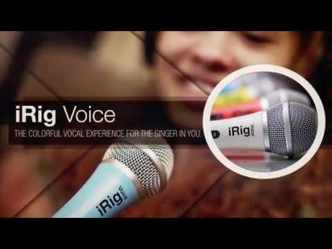 iRig Voice - The colorful vocal experience  for the singer in you