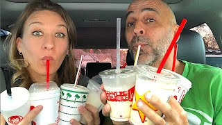 Big Mistake! We Taste Test 9 Fast Food Milkshakes