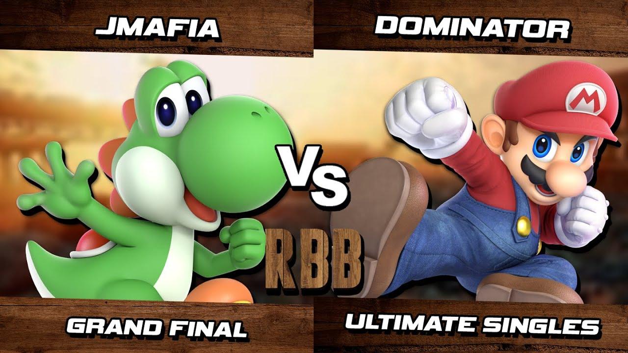 Download Rex Baron 56 GRAND FINAL - JMafia (Yoshi) Vs. Dominator (Mario) SSBU Ultimate Tournament