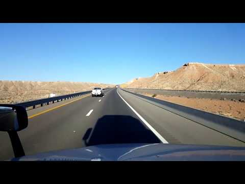 BigRigTravels LIVE! near AZ/NV border to Mountain Pass, Cali