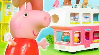 Peppa Wutz 🚌 Wohnmobil-Camping 🚌 Peṗpa Pig Deutsch Neue Folgen | Toy Play