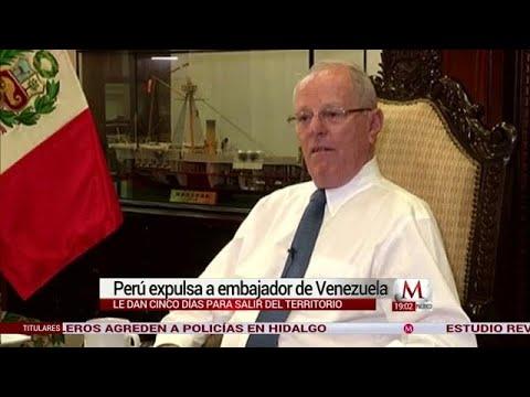 Perú expulsa al embajador de Venezuela en Lima