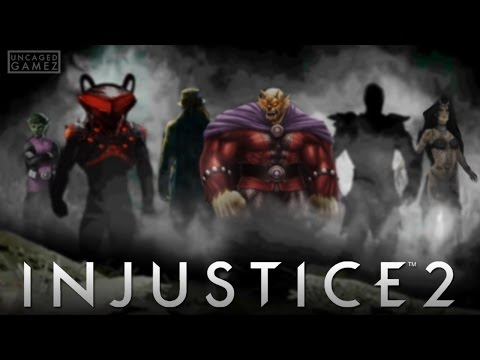 Injustice 2: DLC Character Silhouette Breakdown, & Predictions!!