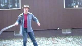 Bullwhip Cracking:  the underhand flick