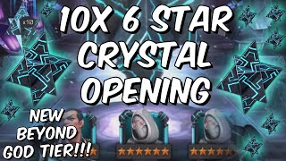 10x 6 Star Crystal Opening! - 100,000 6 Star Shards - New God Tier!?! - Marvel Contest of Champions